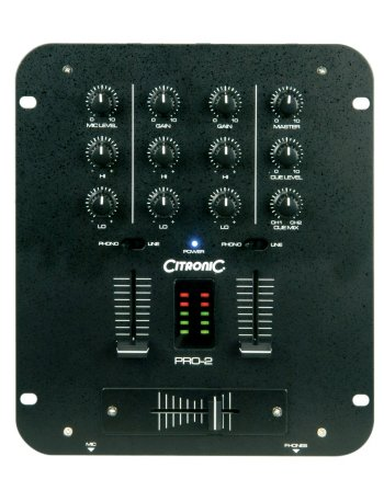 Mixer Citronic Pro 2