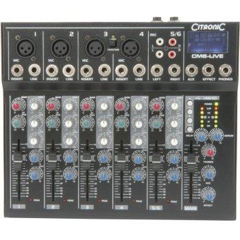 Mixer Citronic CM6