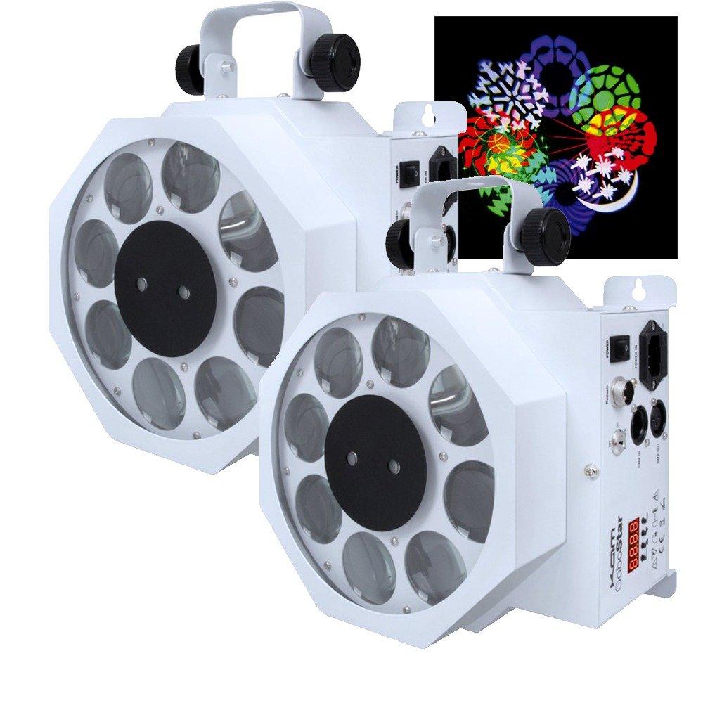 LED Laser KAM GoboStar White