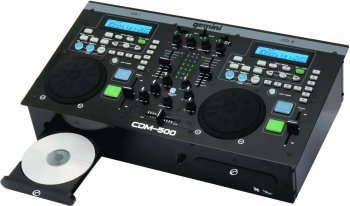 CD Player Gemini CDM500 CD Player / Mixer