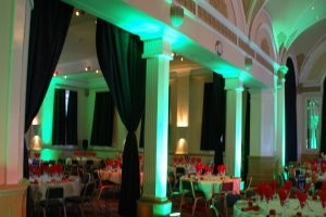 lighting hire for audio visual events