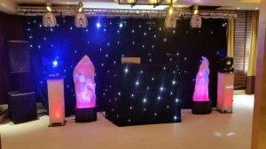 Lighting hire for Corporate Events