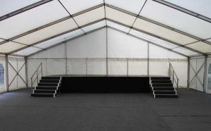 Steel deck staging for hire 6ft x 4ft or 8ft x 4ft sections