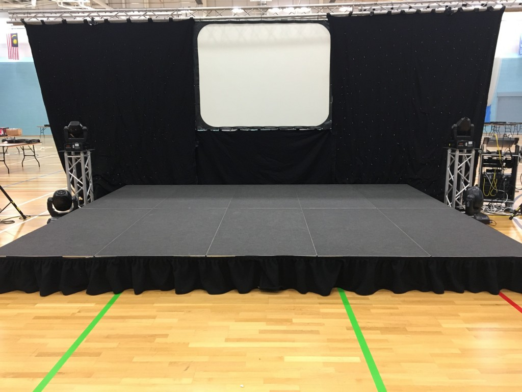 Whether your event is inside, outside, small, large, 1ft – 3ft high we can supply a stage that suits your event.