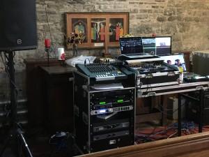 Sound video desk 1