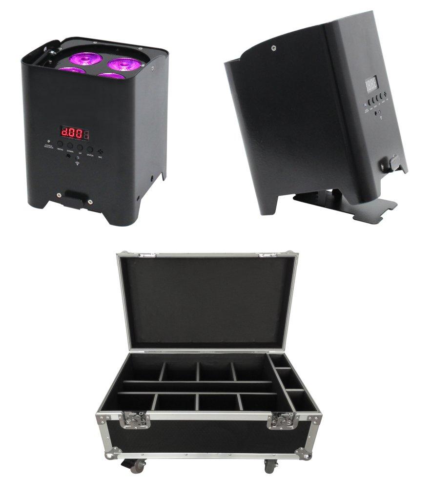 LED Battery Uplighters QB1